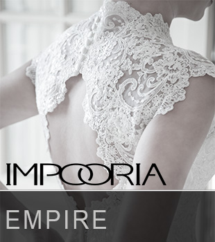 Fresh and simple Empire Wedding Dresses Empire Wedding gowns you see in the picture in a beautiful composition of different models with lace, Glorious precious stones and rich fabrics.