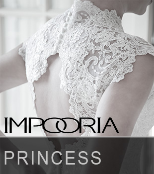 Here you can see magnificent princess wedding dresses and princess wedding fashions from the latest bridal fashions catalogs of IMPOORIA for season 2015